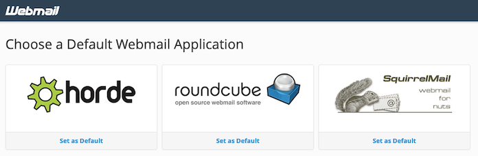 Bluehost Webmail Choose Email App