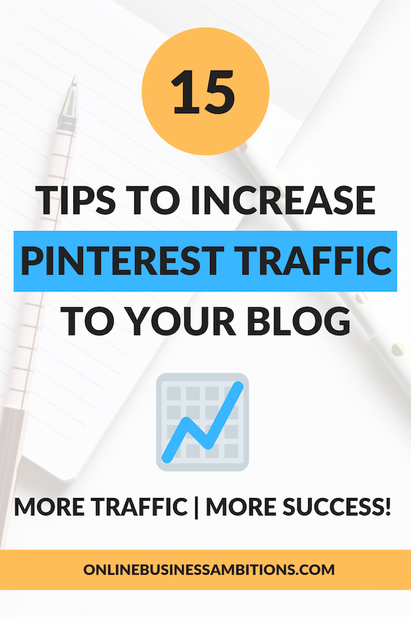 Pinterest Traffic Pin